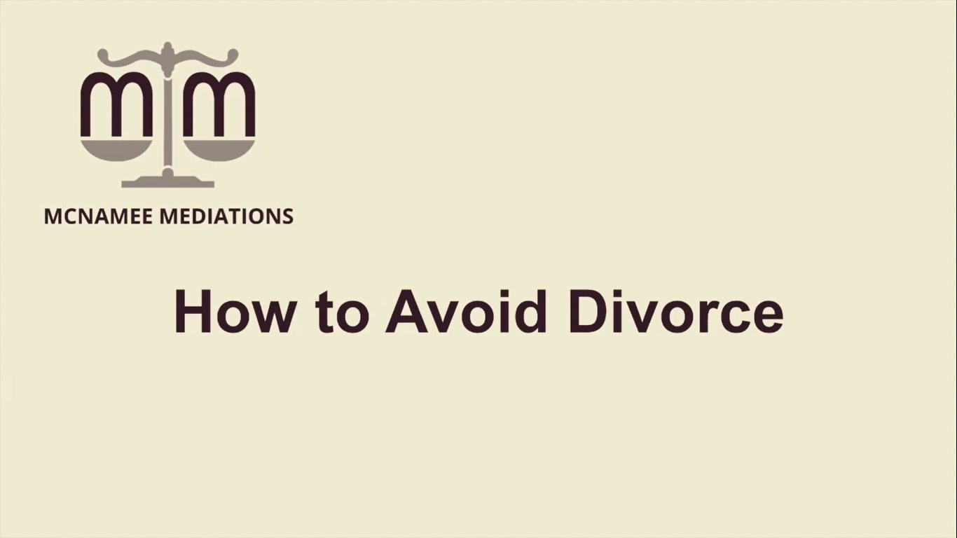 Asking tough questions is one way to avoid divorce!