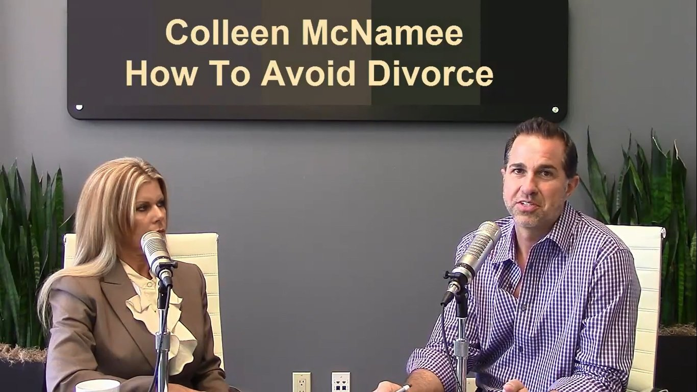 Colleen McNamee's interview at Money Matters with Dino. She talks about the premarital workshops that McNamee Mediation offers for couples who want to avoid divorce.