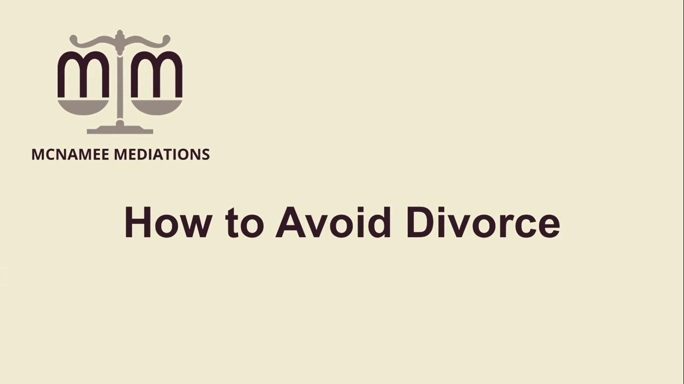Click here for more videos on how to avoid divorce!